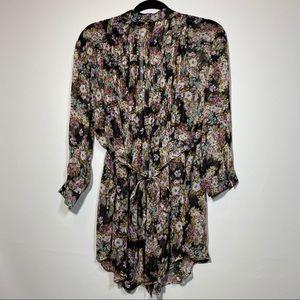 Sheer light blouse